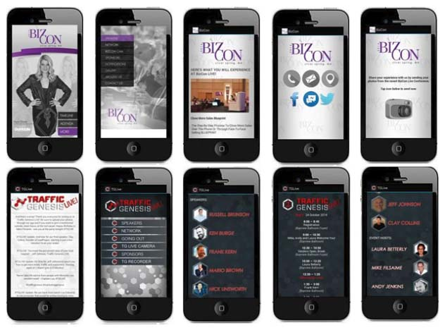 Some custom apps from some of our clients